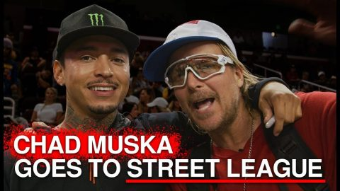 Chad Muska Goes To Street League | Featuring Nyjah Houston And Maurio McCoy | The Berrics
