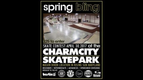 Charm City Skatepark presents: SpringBling - Vimeo / True Skateboard Mag's videos