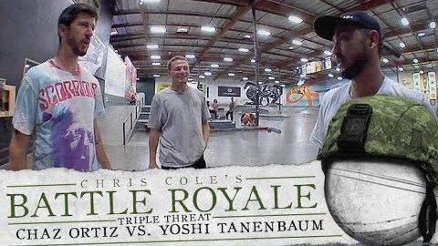 Chaz Ortiz Vs. Yoshi Tanenbaum - Battle Royale: TripleThreat | The Berrics