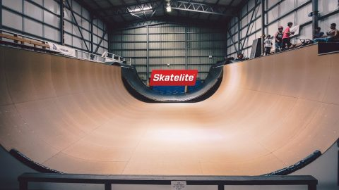 Check out the Largest Skatepark in Europe! Adrenaline Alley in Corby, UK | Skatelite