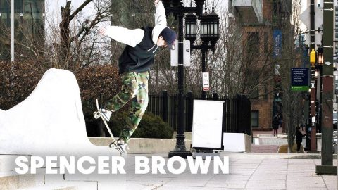 Checkout: Spencer Brown skating the streets of Baltimore - Red Bull
