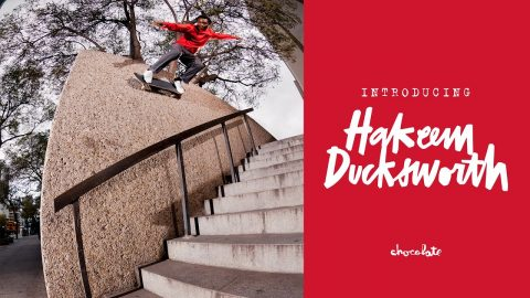 Chocolate Skateboards Welcomes Hakeem Ducksworth | crailtap