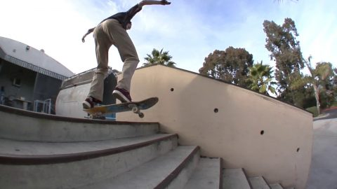 Chris Colbourn bs 180 Switch 5050 Raw Cut | E. Clavel