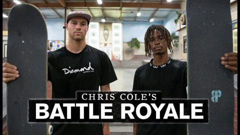 Chris Cole Challenges Sewa Kroetkov And Chris Pierre | Battle Royale | The Berrics