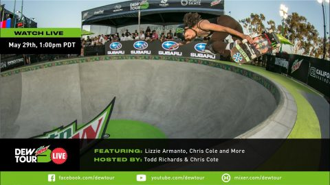 Chris Cole & Lizzie Armanto: Dew Tour Live Episode 4 | Dew Tour