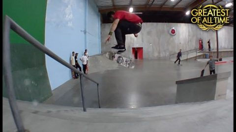 Chris Cole Switch 360 Flips The Whole Park First Try | The Berrics