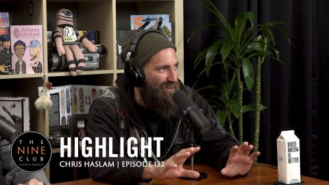 Chris Haslam Almost Died At The Berrics!! | The Nine Club Highlights