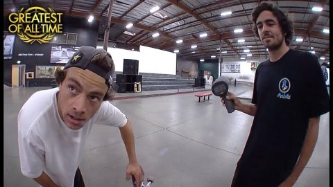 Chris Joslin's 28 MPH Bigspin | The Berrics