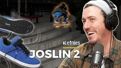 Chris Joslin's New Etnies Part for His Joslin 2 Shoe! (Video Review) | Nine Club Highlights