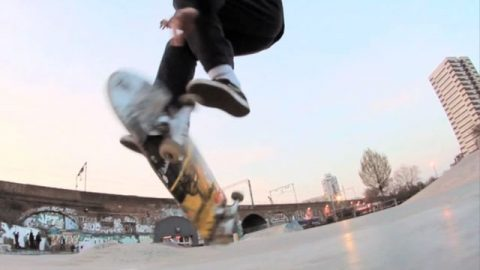 Chris Morgan. | Science Skateboards