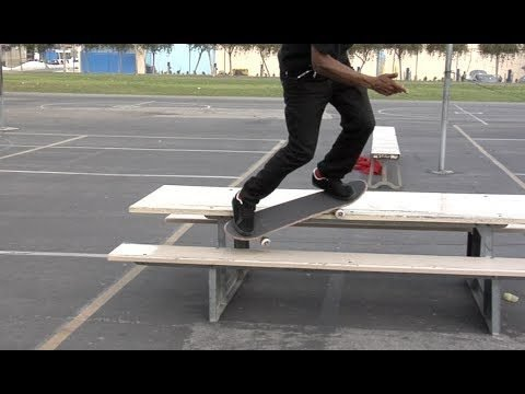 Chris Pierre Bennette Grind Switch 180 Raw - E. Clavel