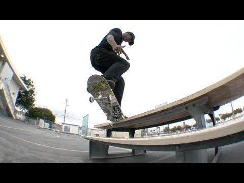 Chris Pierre fs Krook Fakie Switch Flip Bench Raw Uncut - E. Clavel