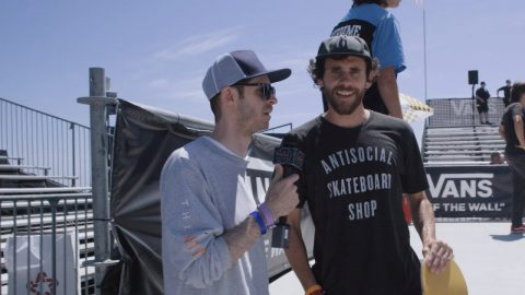 Chris Roberts Experiences The Vans Showdown (US Open 2019) | The Nine Club Highlights