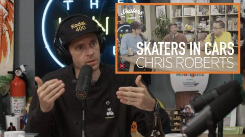 Chris Roberts Reviews His Own Video - Skaters In Cars | The Nine Club Highlights