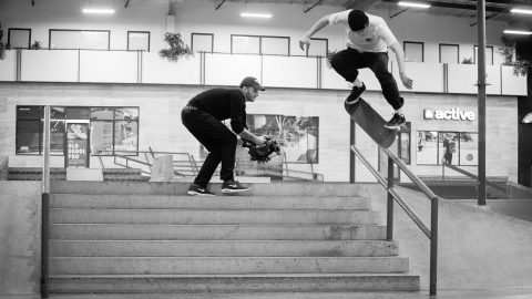 Chris Wimer - Kickflip Crooked Grind | ON LOCK - The Berrics