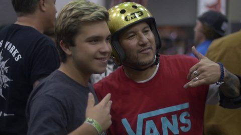 Christian Hosoi's 50th birthday bash at the Combi Bowl | GrindTV - GrindTV