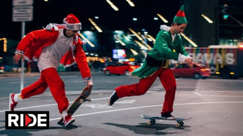 Christmas Skateboarding Edit on RIDE - RIDE Channel