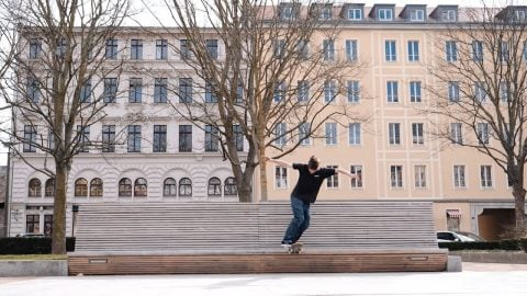 Christopher Schübel's Free Part | Freeskatemag