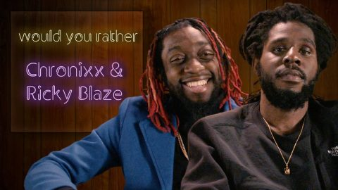Chronixx and Ricky Blaze debate aliens, riddims, and more in Would You Rather   The FADER