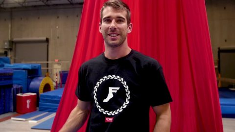 Cirque du soleil acrobat Scott Mcdonald for FP Insoles - Footprint Insole Technology