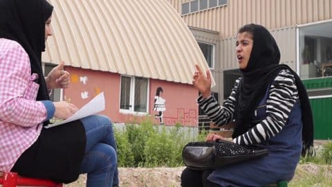 Citizen Profile: Camila*, Skate and Create student (Deaf School Partnership), Mazar - Skateistan