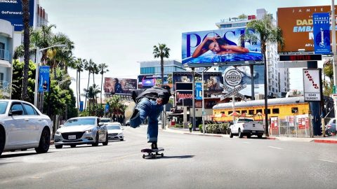 CITY LIFE SKATING IN HOLLYWOOD | Luis Mora