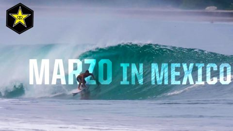 Clay Marzo - Catching Barrels In Mexico | Rockstar Energy