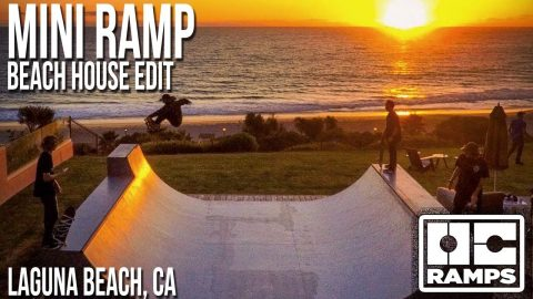 Cliffside Mini Ramp in Laguna Beach - OC Ramps