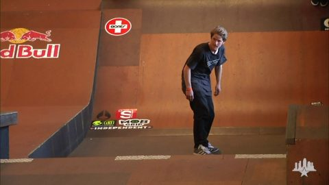 Clips From The Moat: Dennis Busenitz - Tampa Pro 2011 Winning Run | Skatepark of Tampa