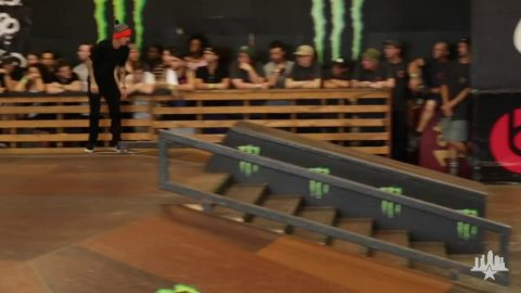 Clips From The Moat: Luan Oliveira - Tampa Pro 2015 Winning Run | Skatepark of Tampa
