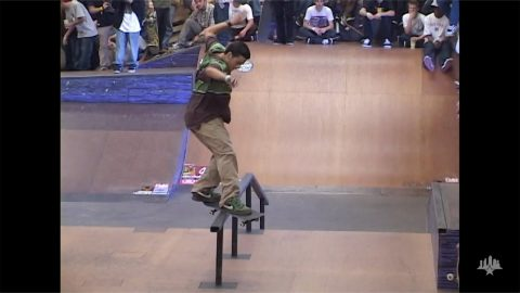 Clips From The Moat: Paul Rodriguez - Tampa Pro 2007 | Skatepark of Tampa