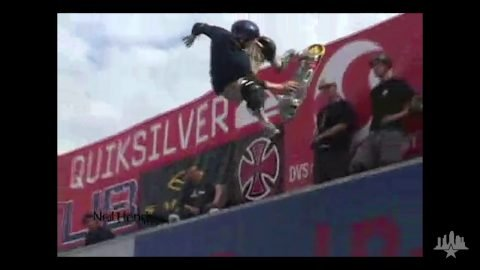 Clips From The Moat: Tampa Pro 2001 Vert Destruction   Skatepark of Tampa