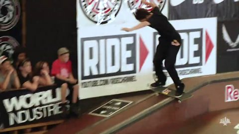 Clips From The Moat: Torey Pudwill - Tampa Pro 2011 | Skatepark of Tampa