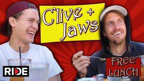 Clive and Jaws Talk About the New Birdhouse Film Saturdays & Clive Turning Pro - Free Lunch - RIDE Channel