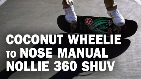 Coco to Nose Manual 360 Shuv: Rene Shigueto || ShortSided - Brett Novak