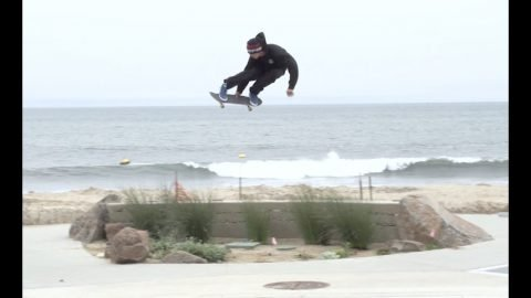 Cody Chapman for the Newport Hi | Lakai Footwear