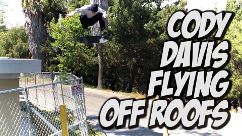 CODY DAVIS IS CRAZY AT SKATEBOARDING !!! - NKA VIDS - | Nka Vids Skateboarding