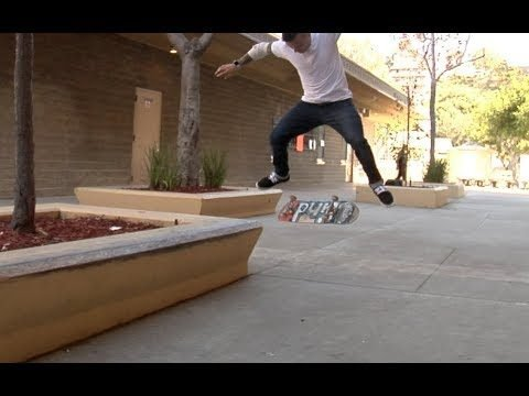 Cody McEntire Kickflip bs Tail bs Flip Raw Cut - E. Clavel