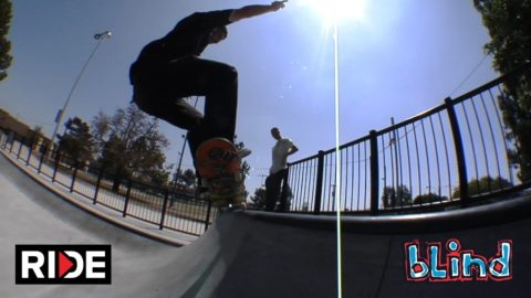 Cody McEntire Skates Theresa Lindsay Park in LA - Blind #DamnEdits - RIDE Channel