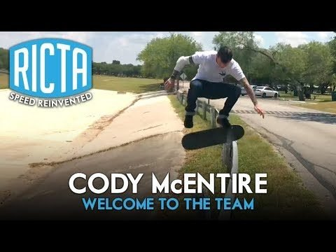 Cody McEntire - Welcome to Ricta Wheels - Ricta Wheels