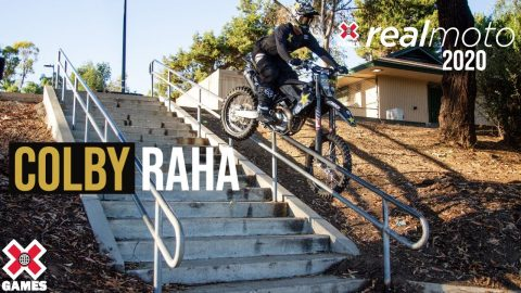 Colby Raha: REAL MOTO 2020 | World of X Games | X Games