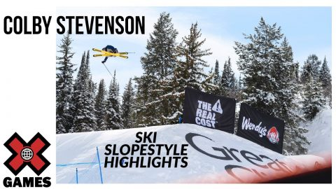 Colby Stevenson SKI SLOPESTYLE HIGHLIGHT REEL | X Games Aspen 2020 | X Games