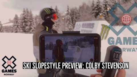 Colby Stevenson: SKI SLOPESTYLE PREVIEW | X Games Norway 2020 | X Games