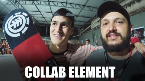Collab com Element | 555 sobreskate | sobreskate