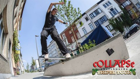 "cOLLAPSe skateboards ""Tripel Tour"" Video 