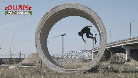cOLLAPSe Tripel Tour Belgium – Teaser | cOLLAPSe skateboards