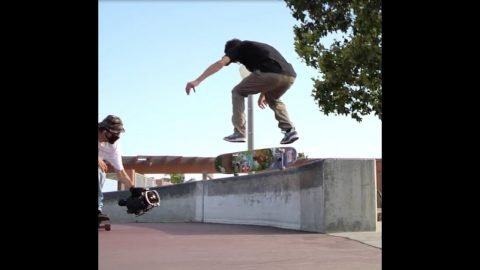 Collin Slew Teaser for Video Part Premiere on February 3rd! | Bones Bearings