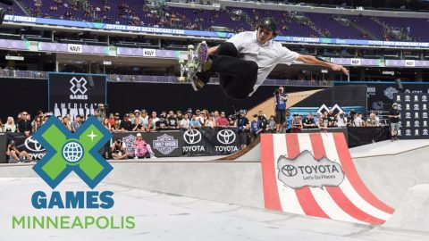 Cory Juneau wins Skateboard Park bronze | X Games Minneapolis 2017 - X Games