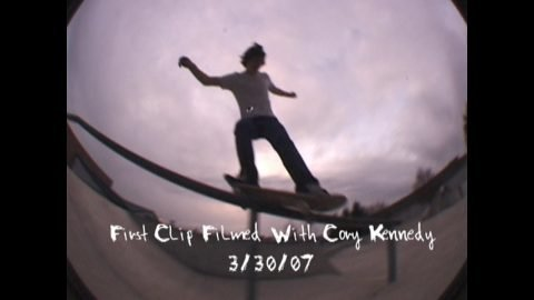 Cory Kennedy First Ever Clip Filmed | sk8rat