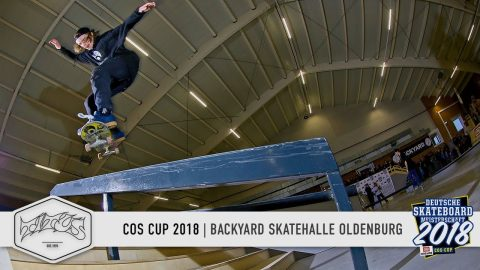 COS Cup 2018 - Backyard Skatehalle Oldenburg - Titus